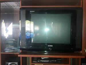 Tv de 29 pantalla plana con control para arreglarlo