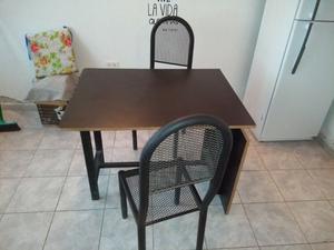 Vendo mesa extensible + 2 sillas