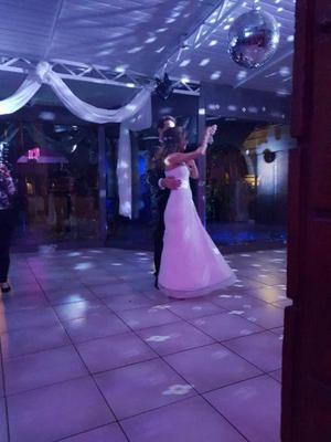 vendo vestido de novia talle S