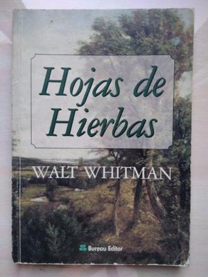 Hojas de hierbas - Walt Whitman - Bureau Editor