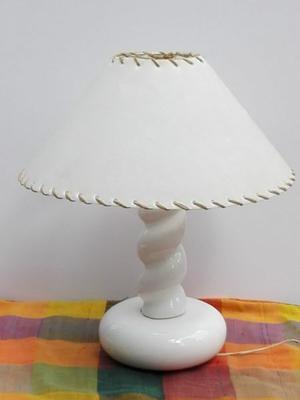 Velador lámpara con pantalla