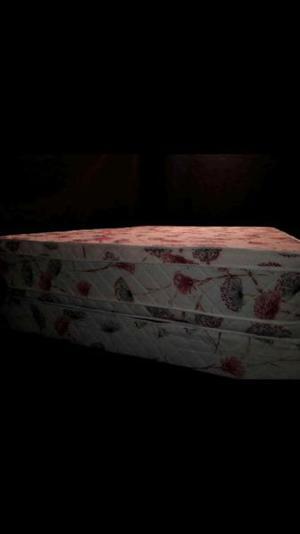 Colchón y somier doble pillo ref. 30cm