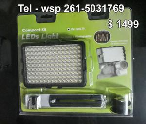 Iluminador 126 Led Foto Video a pilas !!!!