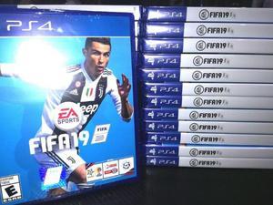 Juego de Playstation 4, ps4, Fifa 19, envio sin cargo