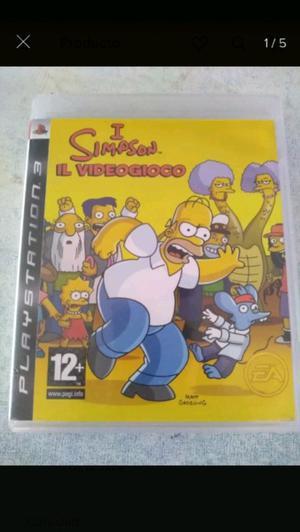 Juego de los Simpsons PS3