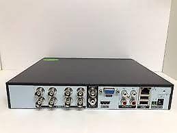 Kit de video vigilancia 4 camaras HD DVR FUENTES Y CABLES