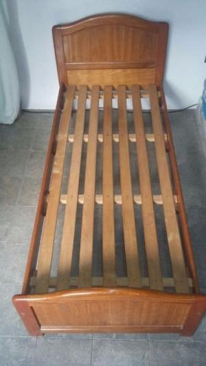 Cama de cedro 1 plaza