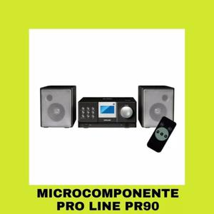 Microcomponente Cd Usb Sd Radio Am Fm Mp3 Auxiliar Stereo