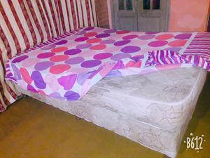 Sommier de 2 plazas con resorte el colchón