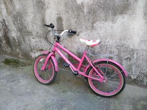 Bicicleta usada rodado 16 niña
