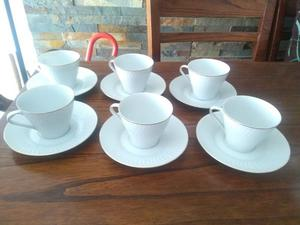 Juego de Té y de Café de porcelana tsuji