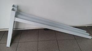 mensula de 80 cm para aire acondicionado piso techo