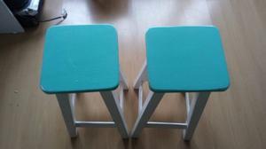 sillas para bar impecables