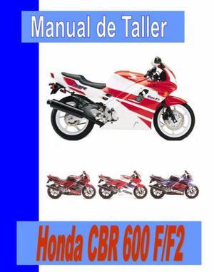 Honda CBR 600 F Manual de Taller