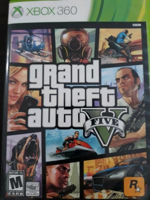 Juego GRAND THEFT AUTO (fisico) Xbox360