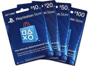 Playstation Psn Card Tarjeta 20 50 10 60 100 Usd Dolares Ps3
