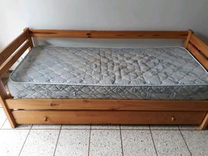 Vendo cama marinera y otra de 1 plaza impecable completas