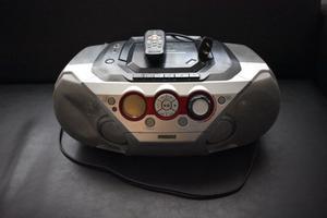 Reproductor de CD y Radio Philips + cable AUX