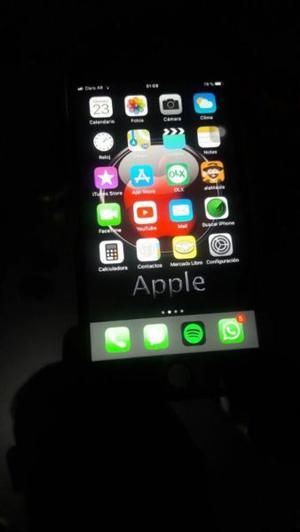 vendo iphone 7 32gb black libre de fabrica con 6 meses de