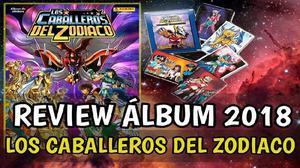 Album Caballeros Del Zodiaco Con Figuritas Completas