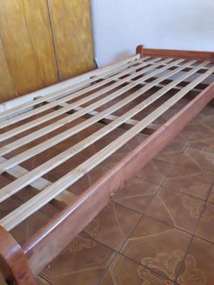 Cama de pino 1 plaza