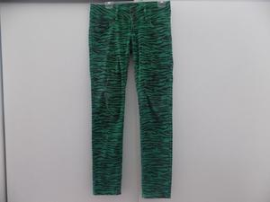 Jeans AMERICANINO Verde Animal Print Talle 38