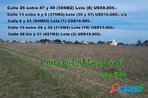LOTES en EL MARQUESADO