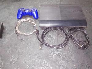 Play station 3 + volante PS3 con pedales+1 juego