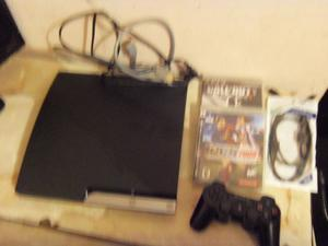 Playstation 3, Play 3, Ps gigas, 1 joystick, 2 juegos