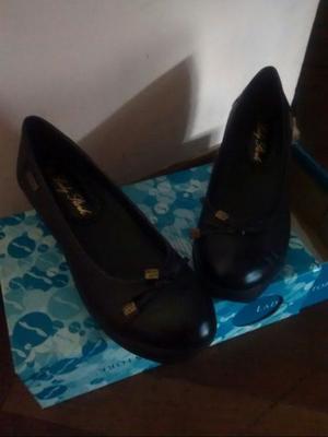 Zapatos de cuero Lady Stork - N° 38