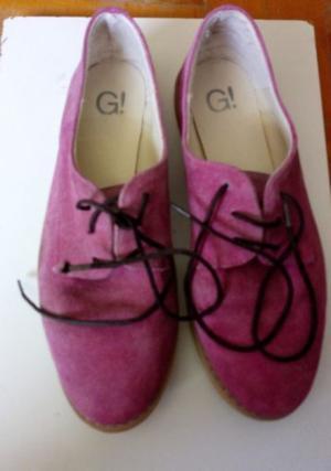 Zapatos de mujer tipo mocasin Nº 39