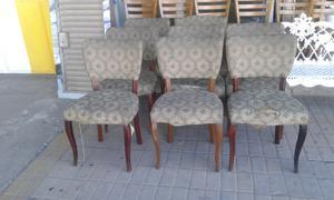 8 sillas estilo francés