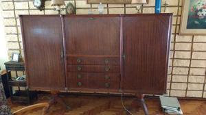Antiguo modular estilo inglés con doble pata Sheraton