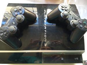 Playstation 3 con dos joystick