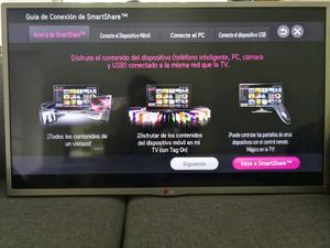 Smart tv Led LG 32', impecable, línea nueva, poco uso