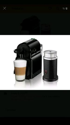 cafetera nespresso inissia + aeroccino