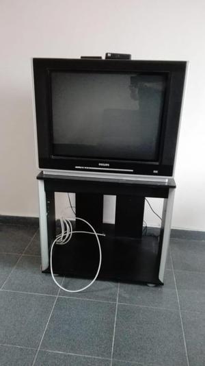 Televisor TV y mesa TV
