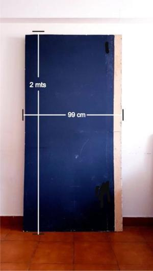 División de Madera de 2mts (alto) x 99cm (Ancho) x 8cm