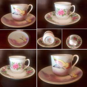 Dúos de café de porcelana
