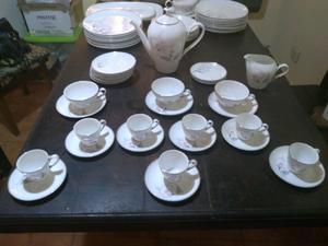 Juego de vajilla Antigua Royal Hartford bone china