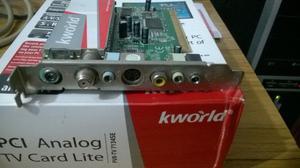 Placa sintonizadora de TV y Radio PCI interna