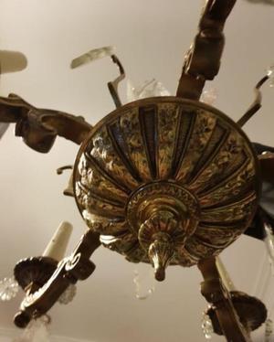 vendo lampara araña antigua
