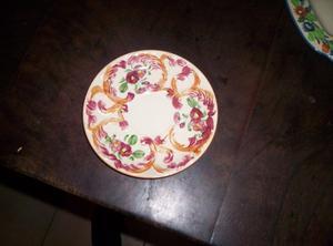 Antiguo Plato Nª1 De Porcelana Opaca Oriental S.a