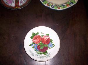 Antiguo Plato Nª3 De Porcelana Ingles
