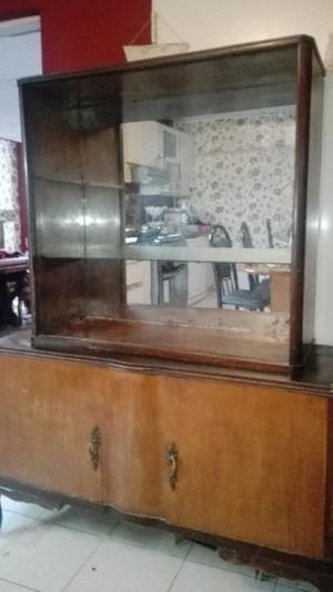 Vendo mueble antiguo con espejo