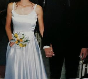 Vendo vestido de novia usado en buen estado usado una sola