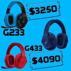 Auriculares gamer Logitech PC PS4