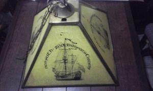Lampara De Colgar Antigua Nautica