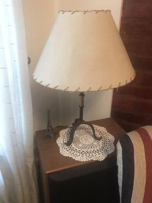 Lámpara de hierro