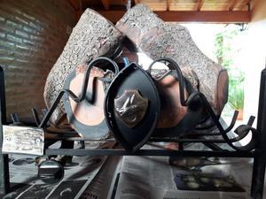Vendo Leño A Gas  Calorías Con Válvula De Seguridad